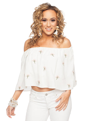 Alys Top- White