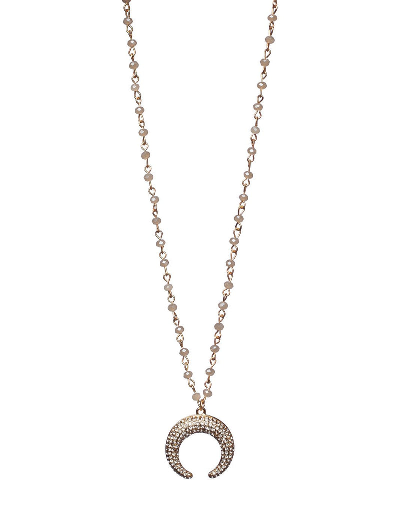 Blue Moon Necklace - Buddy Love Clothing Label