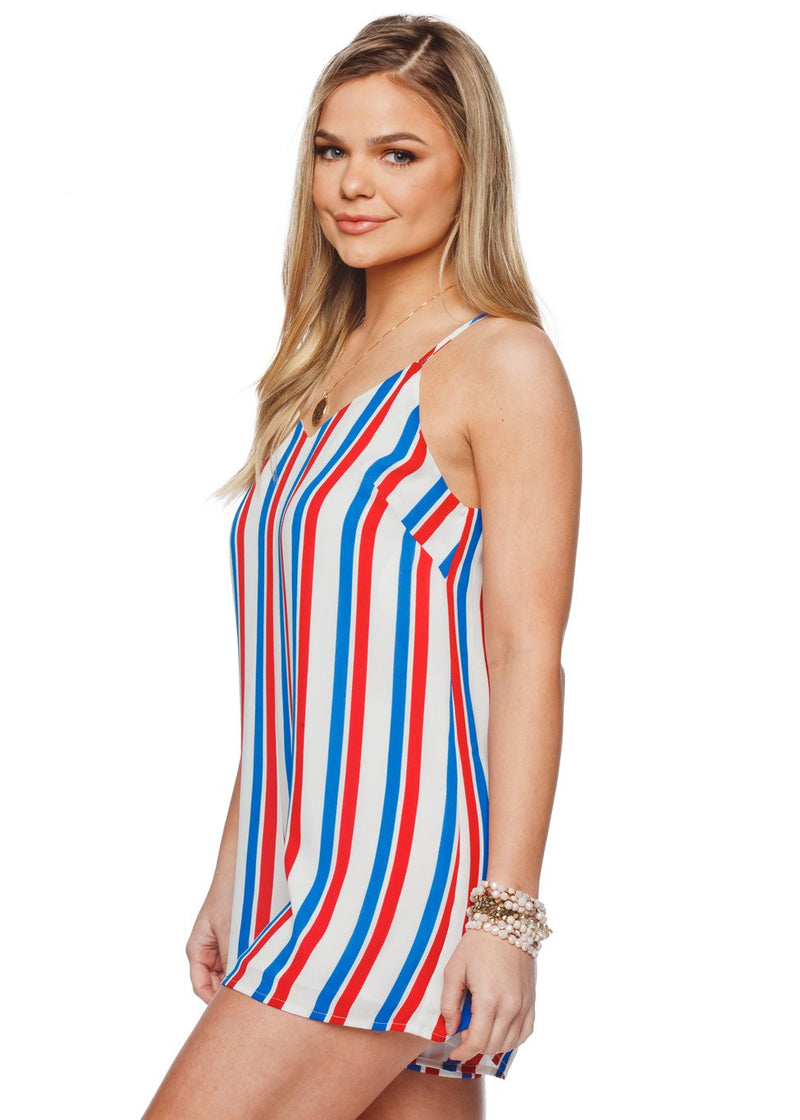 Cara Romper- USA - Buddy Love Clothing Label