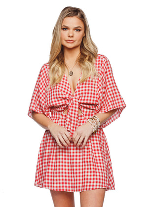 Connie Dress- Red