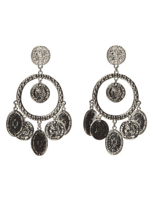 Sheila Earrings- Silver