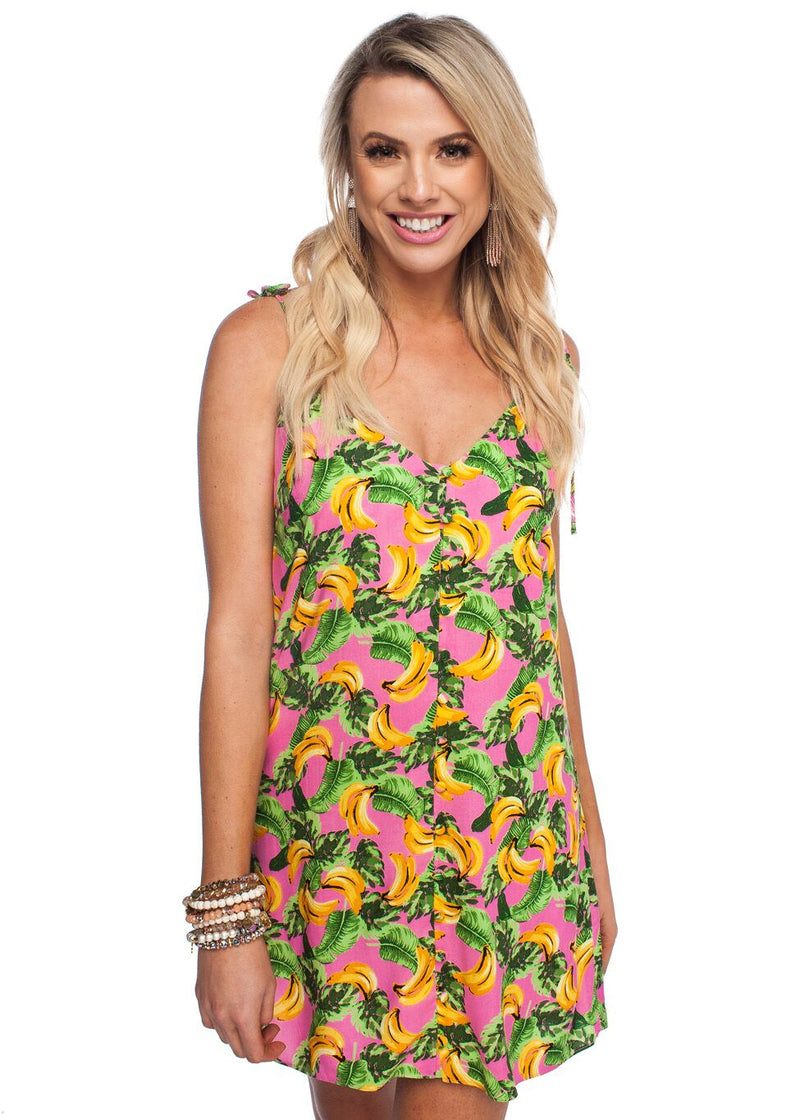 Haven Dress- Bananas