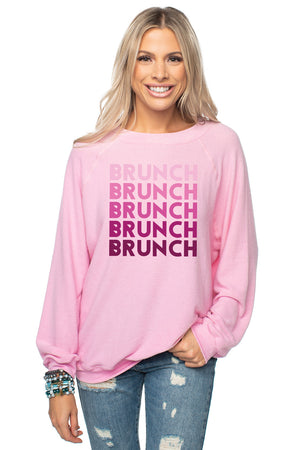 Courtney Graphic Sweater - Brunch