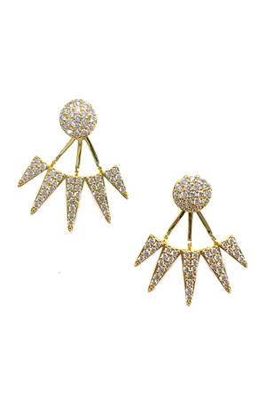 Nikki Stud Earrings - Gold