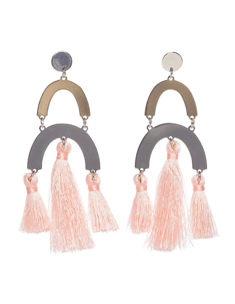 Picasso Earrings- Blush