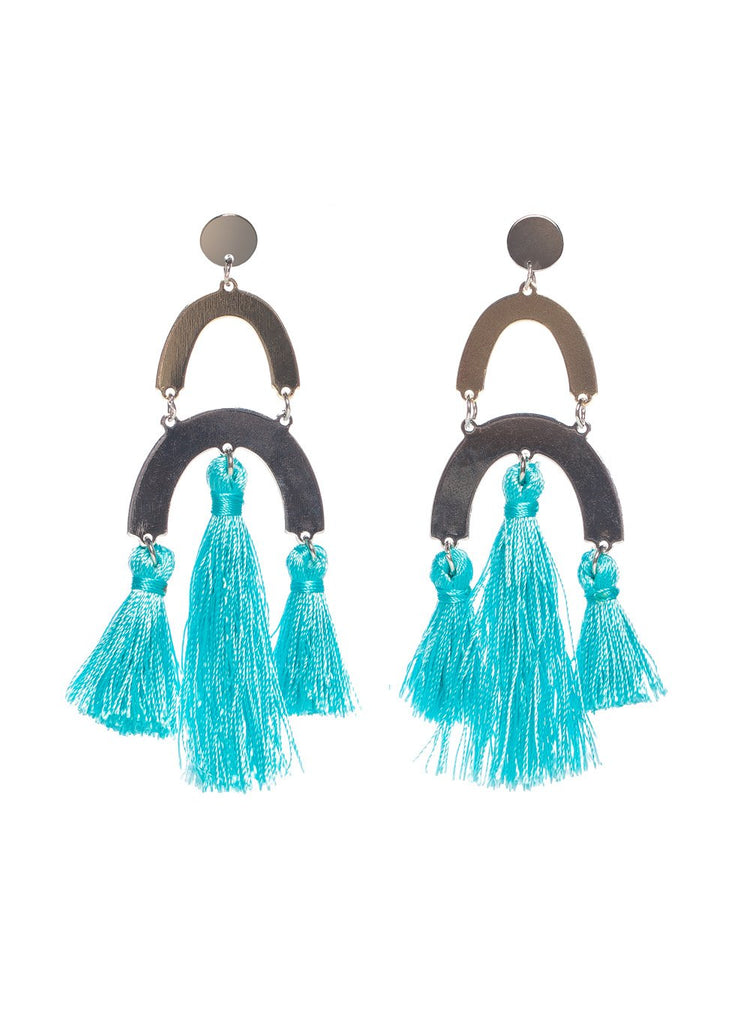 Picasso Earrings- Turquoise