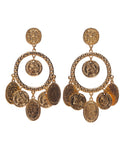 Sheila Earrings- Gold
