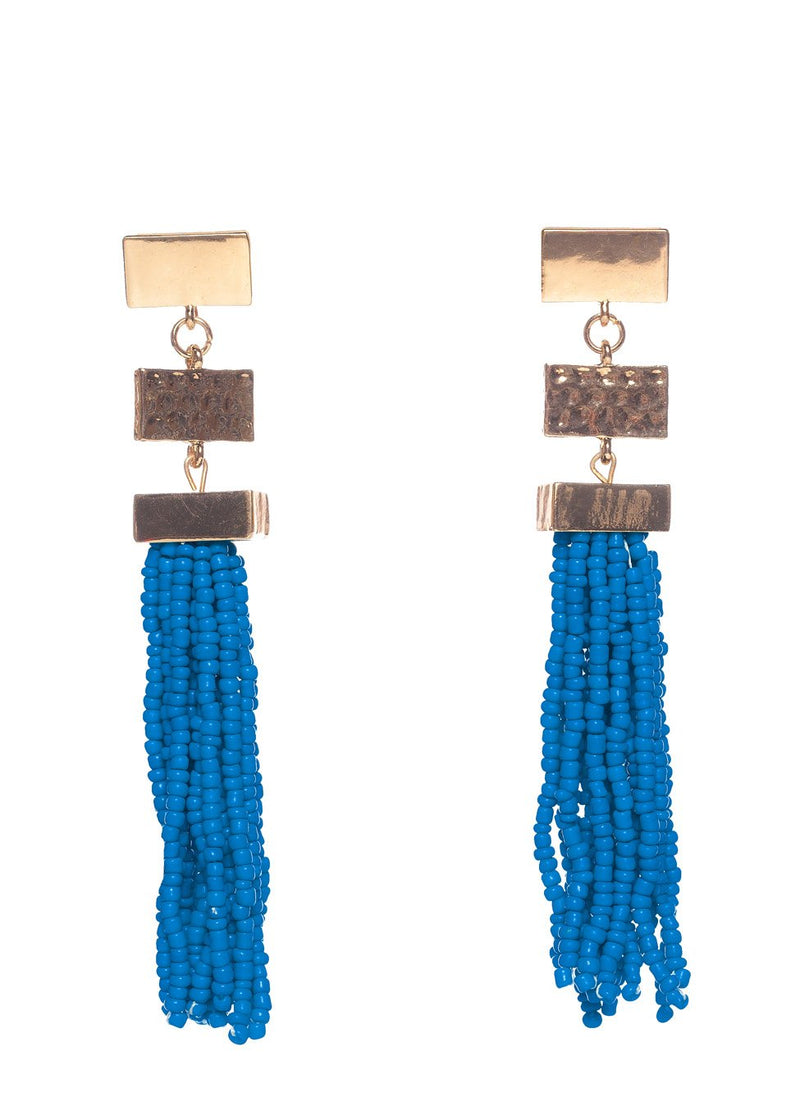 Stonehenge Earrings- Blue