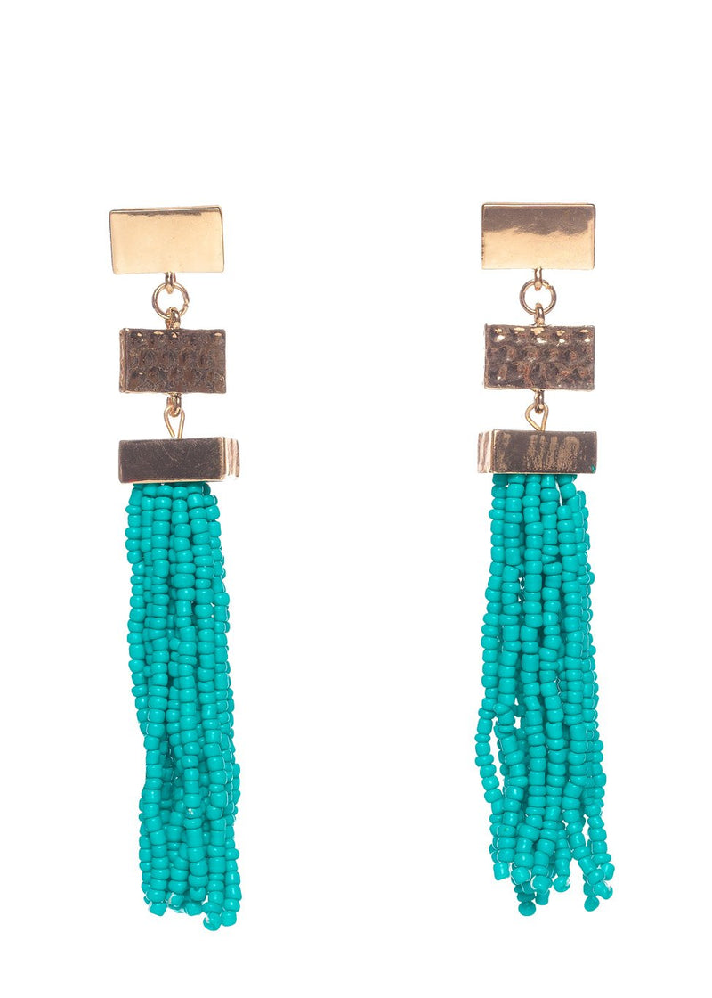 Stonehenge Earrings- Turquoise