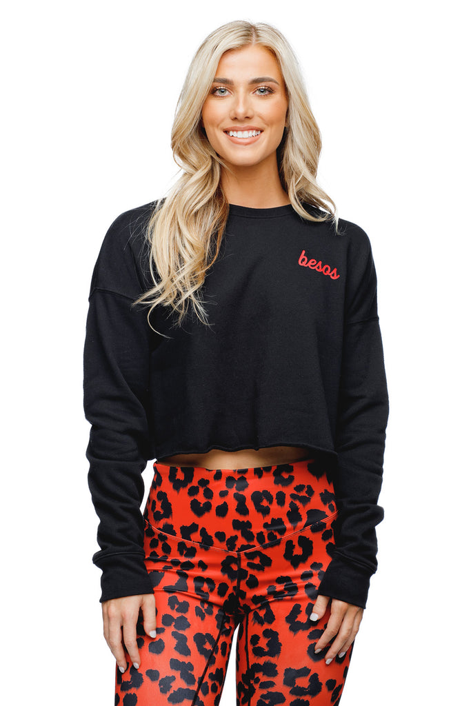 Wade Cropped Sweater - Besos