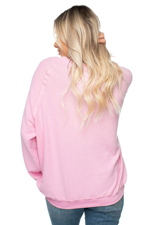 Courtney Graphic Sweater - XOXO