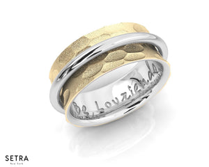 Equality 14kt Fine Gold Spin Band