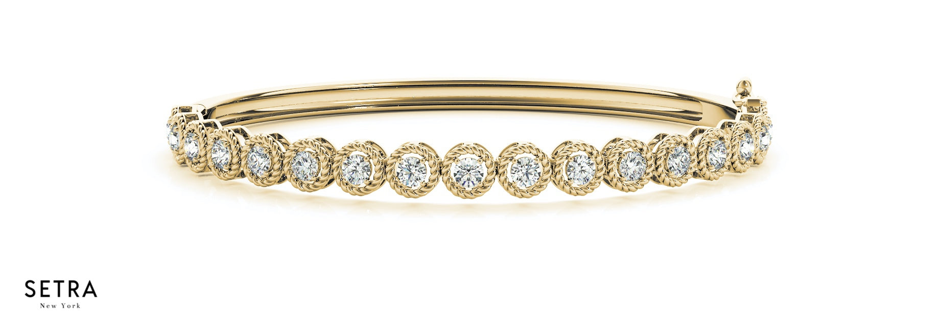 com braided london diamond bangle bracelet sku s gold rose londonjewelers collection