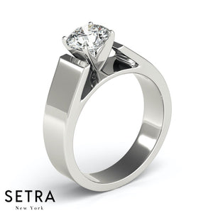 SOLITAIRES ENGAGEMENT RINGS 14K GOLD