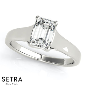 SOLITAIRES LUCIDA ENGAGEMENT RINGS OVAL SHAPE TRELLIS