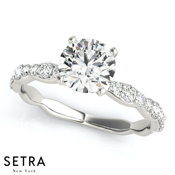 setra engagement ring cut products fine rings stone round diamonds gold set er