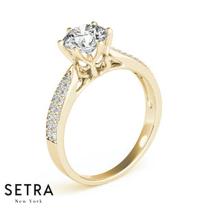 14 FINE GOLD WOMEN'S DIAMONDS SEMI-MOUNT ENGAGEMENT RINGS