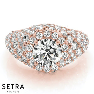 FASHION DIAMOND ENGAGEMENT RING