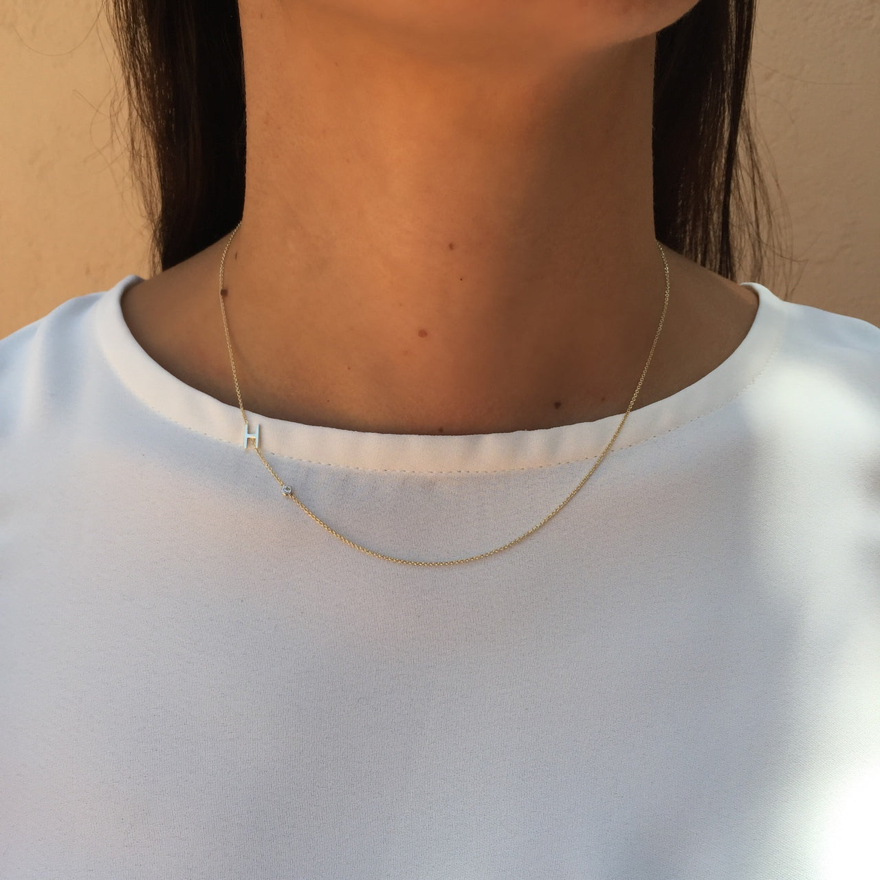 products halskette gold tusk n asymmetrical wonderfuletta necklace