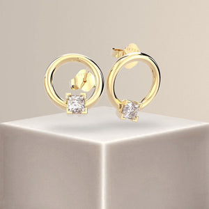 Pixie Princess Diamond Earrings 18k Gold
