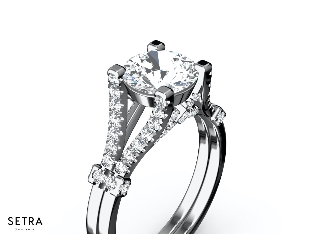 rings in to mireya view diamond shank ring purity by bypass rp solitaire hover zoom