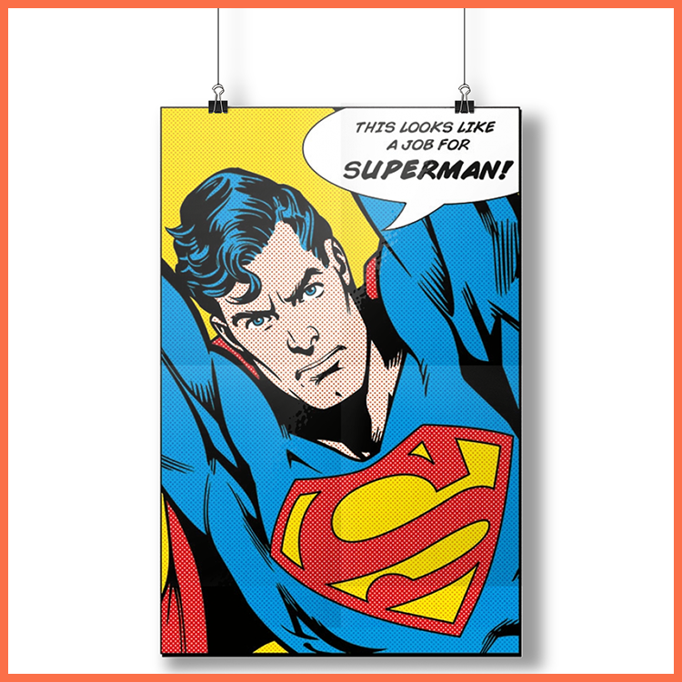 Superman (Looks Like A Job For) - Plakat