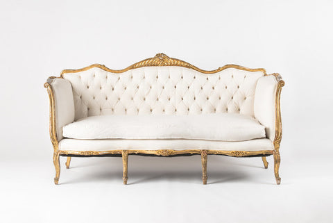 GILTWOOD LOUIS SOFA