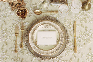SWEETHEART TABLE PLATE SET