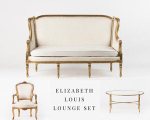 ELIZABETH LOUIS LOUNGE SET DELUX