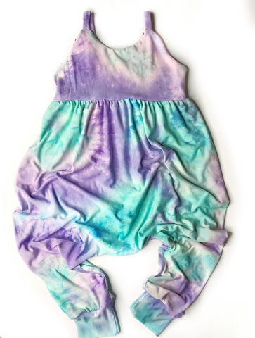 Cotton Candy Summer Romper