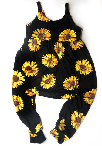 Sunflowers Summer Romper