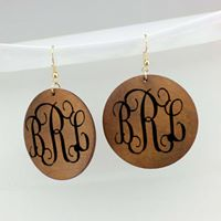 Blank Wood Earrings