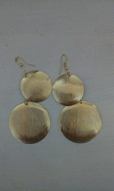 Blank Round Earrings