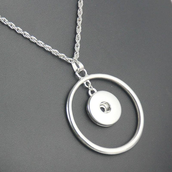Circle Snap Necklace