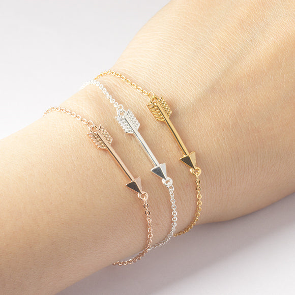 Gold Arrow Bracelets
