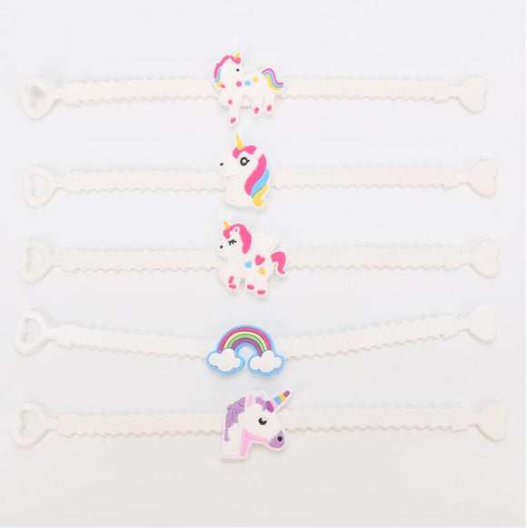 Unicorn Rubber Bracelets - Set Of 2