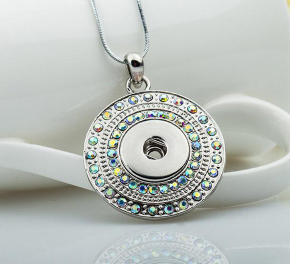 AB Snap Button Necklace