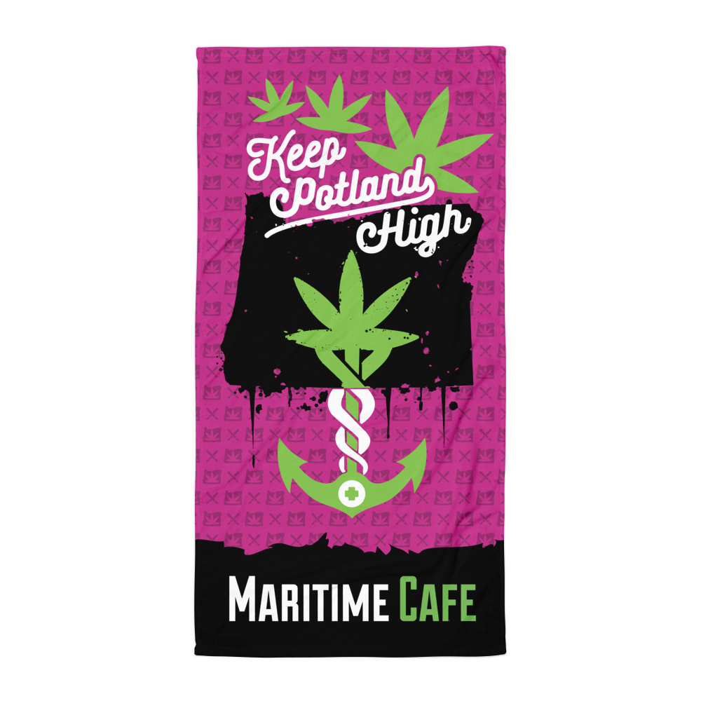 Maritime Keep Potland High Towel (Pink)