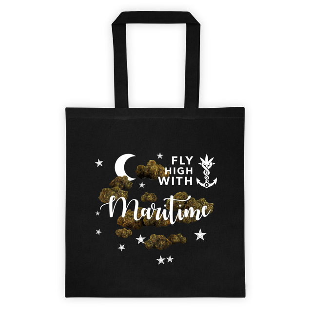 Fly High with Maritime - Black Tote