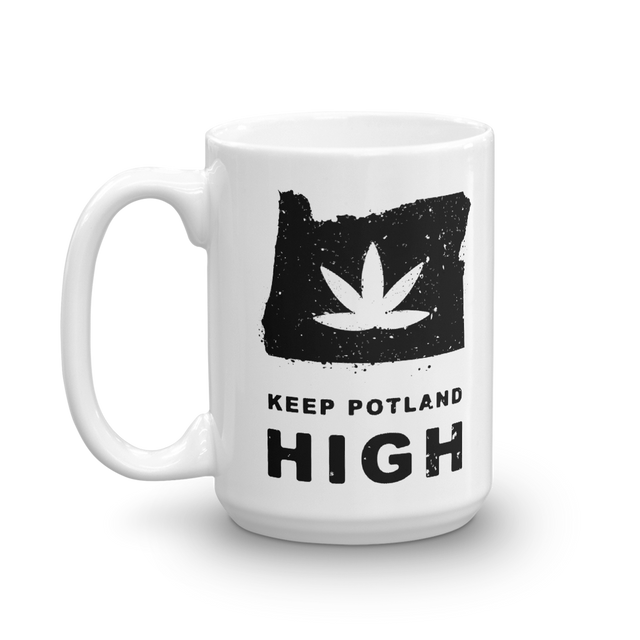 Keep Potland High Mug (15 oz)