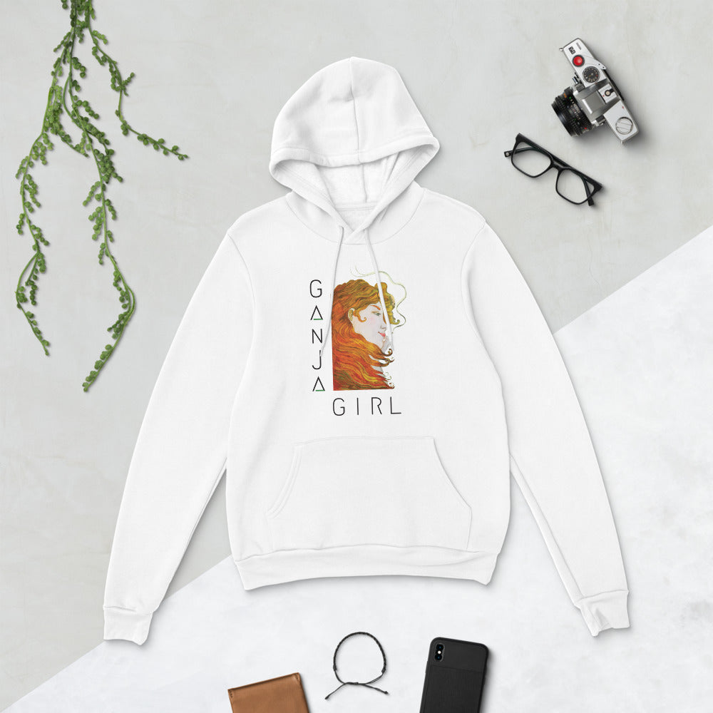 Ganja Girl Fleece Hoodie (Light)