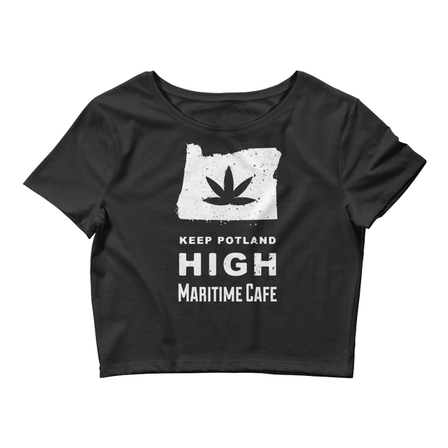 Keep Potland High Women's Crop Tee