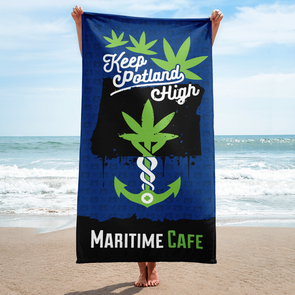 Maritime Keep Potland High Towel (Blue)
