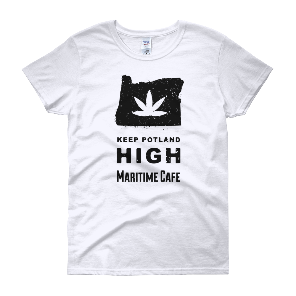 Keep Potland High Women's Tee