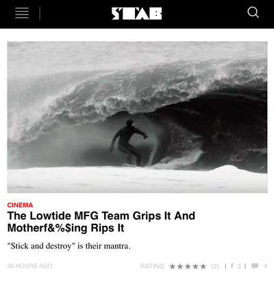 "STAB MAG ""The Lowtide MFG Team Grips It And Motherf&%$ing Rips It"""