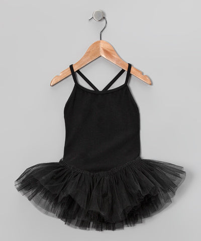 Camisole Leotard With Attached Tutu Skirt