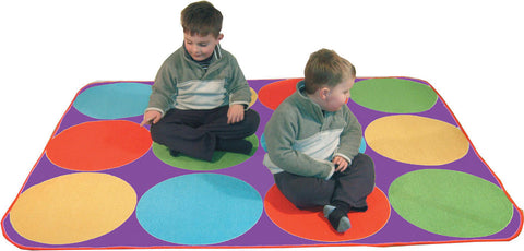 Gigantic Circle Time Rugs