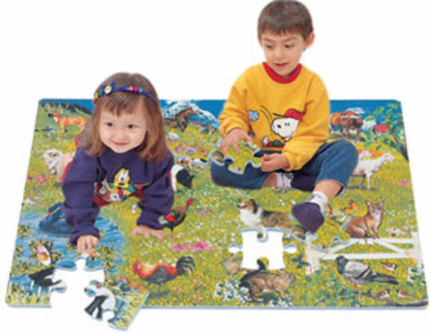 'Farm Animal Foam Floor Puzzle