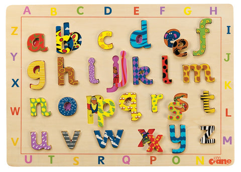 Lift and Look Alphabet Jigsaw