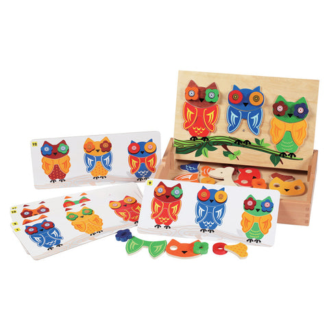 Magnetic Owls Game
